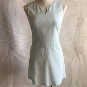 Vintage 90s XS Cynthia Rowley Seersucker Dress